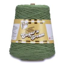 Spinrite Lily Sugar'n Cream Cone Yarn Sage