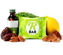 RBar Whole Food Prickly Pear Pecan Exotic Super Food Energy Bar - Dairy & Gluten Free Snacks, Vegan Refreshing Protein Bar - 6 Healthy Ingredients (10 Pack)