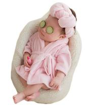 Newborn Baby Photography Photo Props Costume Bathrobes Bath Towel Blanket Photo Shoot
