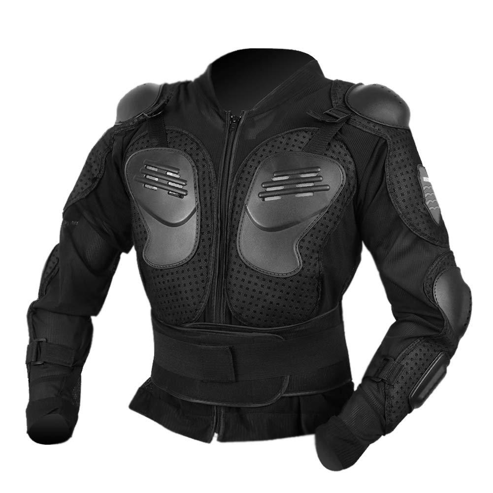 Yolu Motorcycle Protective Jacket,Sport Motocross MTB Racing Full Body Armor Protector (XXX-Large)