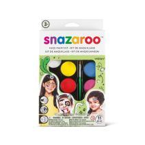 Snazaroo Palette Kit Face Paint, One Size, Rainbow