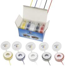 Electrical wire kit hook up wires 22 gauge/AWG tinned copper PVC 300V stranded electric wire cable CBAZY