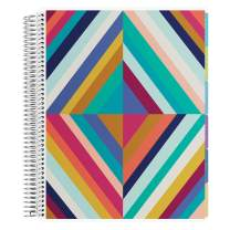 Erin Condren 12 - Month 2020-2021 Oh So Retro Colorful Teacher Lesson Planner (July 2020-June 2021) - Kaleidoscope Interior Design, 210 Pages of Planning Potential