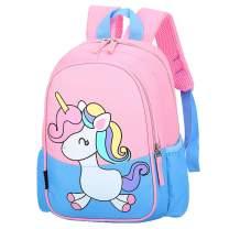POWOFUN Kids Toddler Preschool Travel Backpack Kindergarten Cool Cute Cartoon Schoolbag Backpack Unicorn Backpack Bookbag For Girls Boys Baby(Little Blue Unicorn)