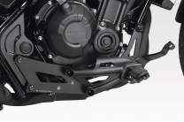 CMX500 Rebel 2017/20 - Kit Original Controls Repositioning (S-0796) - Footrest Footpegs Adjustable Set - Hardware Fasteners Included - De Pretto Moto Accessories (DPM Race) - 100% Made in Italy