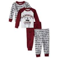 The Children's Place Baby Boys Pajama Set, Pack of Two
