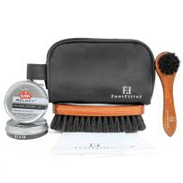 FootFitter Travel Shoe Care Kit with Kiwi Select Paste!