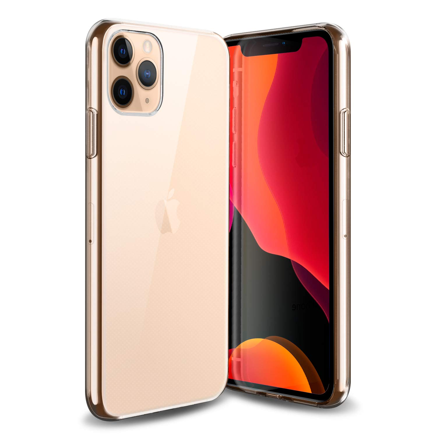 Olixar for iPhone 11 Pro Clear Case - Slim Gel TPU - Ultra Thin - Protective Cover - Flexible - Transparent - Wireless Charging Compatible - Ultra Thin, Clear & Lightweight