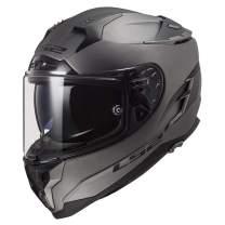 LS2 Helmets Challenger GT Full Face Street Helmet (Solid Matte Titanium - X-Large)