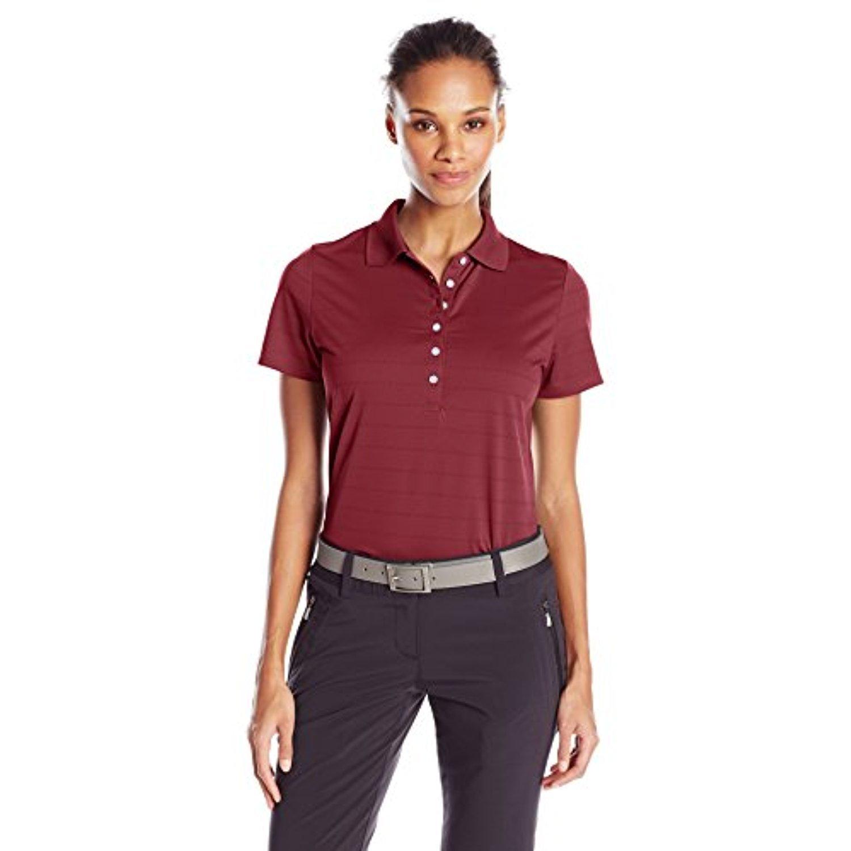 Callaway Women's Short Sleeve Opti-Vent Open Mesh Golf Polo