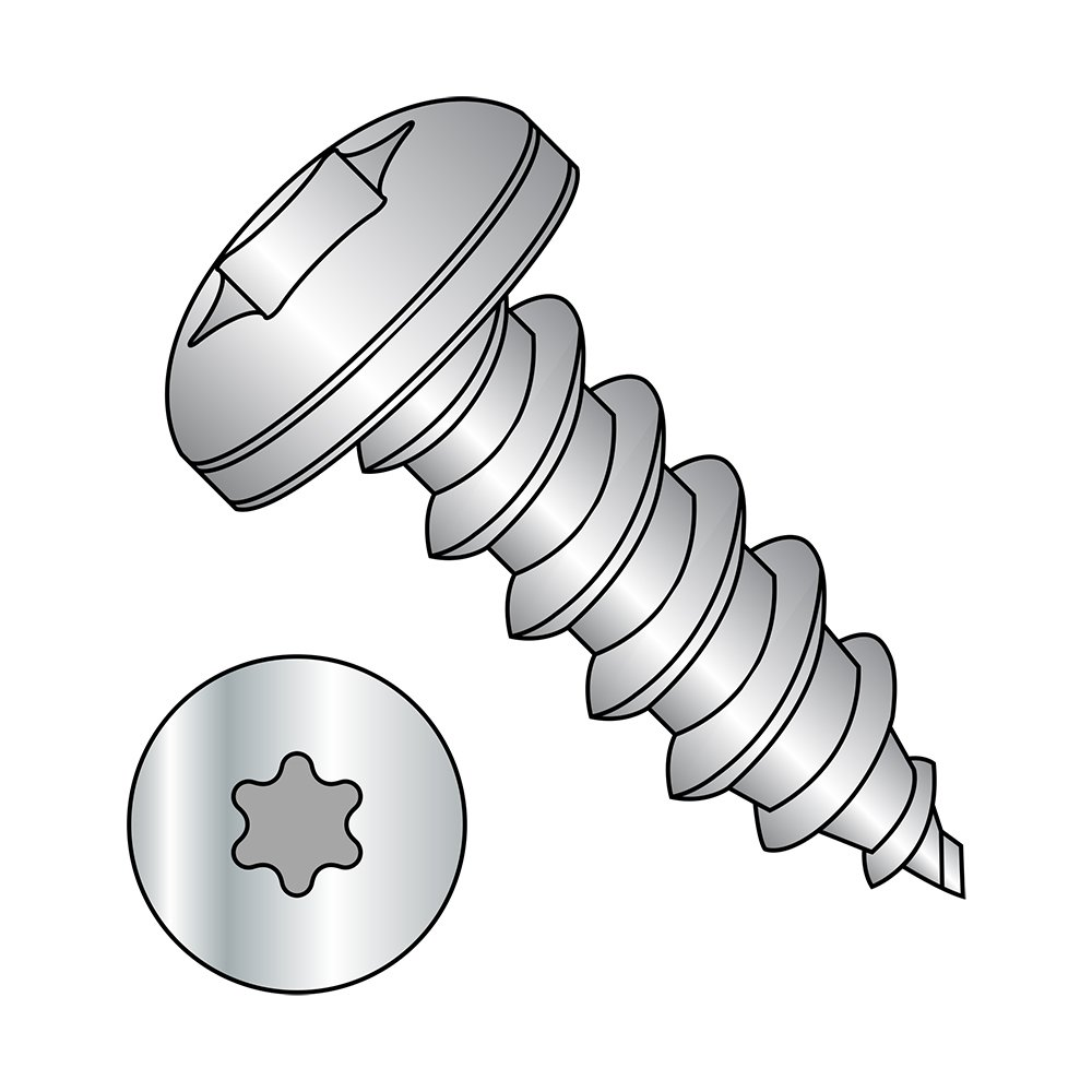 Pack of 100 Type AB 82 degrees Flat Head Phillips Drive 5//8 Length Plain Finish #2-32 Thread Size 18-8 Stainless Steel Sheet Metal Screw