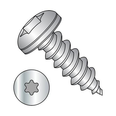 Phillips Drive Steel Sheet Metal Screw #6-20 Thread Size Type B 1//4 Length Pan Head Pack of 100 Black Oxide Finish