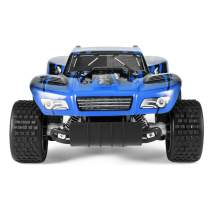 KYAMRC Remote Control Car Electric RC Cars for Kids & Adults, 2.4Ghz 20KM/H Speed Racing Trucks Stunt Off Road Vehicle Indoor Outdoor Party Games Play Toys Gift for Boys & Girls (Blue)
