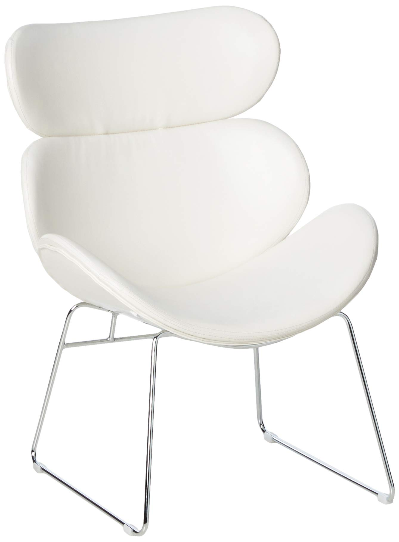 "Ave Six Jupiter Chair, 16"", White"