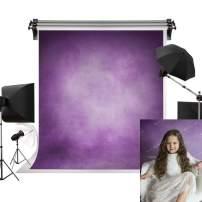 Kate 5x7ft/1.5m(W) x2.2m(H) Purple Background Retro Purple Backdrop Portrait Photography Backdrop Texture Photography Studio Props