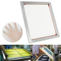 """INTBUYING 6Pcs 23""""x31"""" Screen Printing Frame Mesh Pre-Stretched Aluminum Internal Size 20x28inches (160 (64T) White Mesh)"""