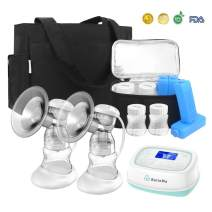 BelleMa S3 Double/Single Breast Pump with Tote and Cooler Pack, Dual-Motor, IDC Technology for L/R Pump Separate Control, 2-Phase Mode, 9 Suction Levels, Portable for Office/Home/Travel