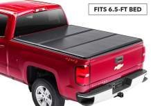 """Rugged Liner Premium Hard Folding Truck Bed Tonneau Cover 