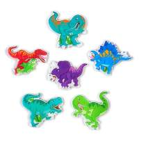 Dinosaur Magnets for Lockers Refrigerator, Fridge Magnets Cute Decorative Set Fun Kitchen Decoration Iron Office Whiteboards Accessories Suitable for Kids Toddlers and Adults