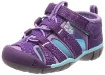 KEEN Unisex-Kid's Seacamp II CNX Water Shoe, Majesty/Tibetan Stone, 6 M US Big Kid