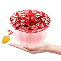 Mini Drone Flying Ball for Kids Toys Gift, JoyGeek Scoot Hands Operated Mini RC Quadcopter UFO for Boys Girls Toddlers, Small Orb Easy Flying Indoor Helicopter with Remote Control