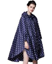 Unisex Women's Rain Poncho Hooded Protective Cover Suit Jacket Waterproof Reusable Hiking Rain Coat