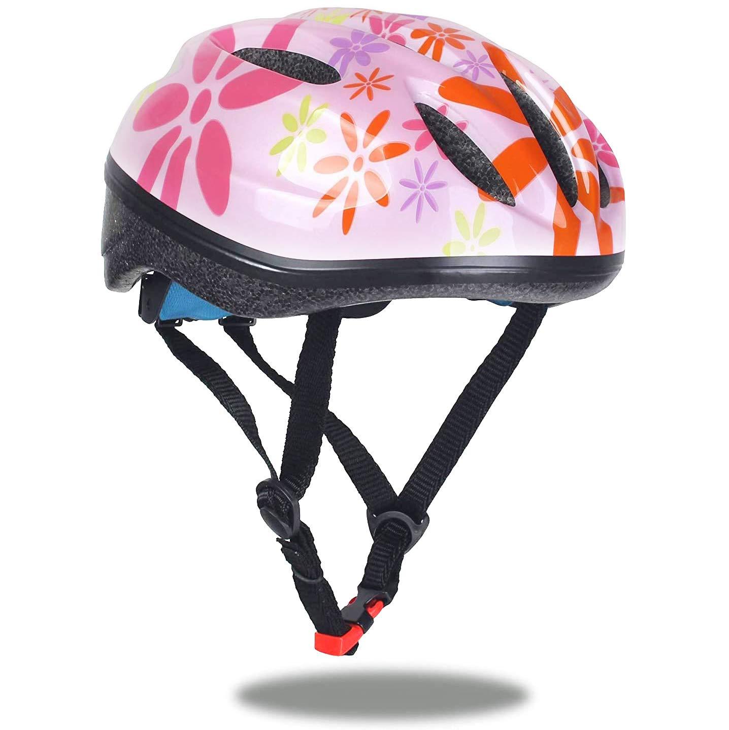 Dostar Toddler Helmet Child CPSC Certified Kids Bike Helmet Youth Boys/Girls Helmet Adjustable Multi-Sport Safety Cycling Skateboard Scooter Inline Skating Protective Gear(S/M)