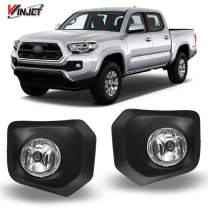 Winjet OEM Series for [2016 2017 2018 2019 2020 Toyota Tacoma] Driving Fog Lights + Switch + Wiring Kit