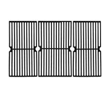 """Hisencn Cast Iron Cooking Grid Grate Replacement for Brinkmann Pro Series 8300, 810-1415-F, 810-7231-W, 810-8300-W, 810-9400-0, Grill King 810-9325-0 (17 5/8"""" x 27 7/8"""" Grate for Brinkmann)"""