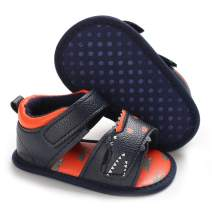 Sawimlgy Baby Boys Girls 2 Straps Summer Athletic Beach Sandals Infant Shoes Soft Sole Breathable Prewalker Newborn First Walking Crib Shoes