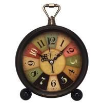 Konigswerk Desk Alarm Clock, Battery Operated Loud Alarm Clock (Tuscan Style)