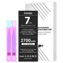 [2700mAh] Battery for iPhone 7 (2021 New Version), Conqto New Upgrade High Capacity 0 Cycle Battery Replacement for iPhone 7 A1660, A1778, A1779 with Adhesive Strips and Instructions, No Tools
