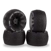 IWONDER Cloud Wheel Electric Skateboard Wheels 120mm Patented Damping Foam Core All Terrain Off Road 78A Translucent Urethane Longboard Wheels