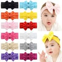 YHXX YLEN Baby Girl Cute Hairband Elastic Hair Accessories Headbands (907-12Pcs)