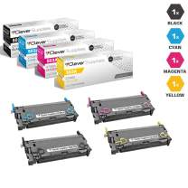 CS Compatible Toner Cartridge Replacement for HP 3800 Q6470A Black Q7581A Cyan Q7582A Yellow Q7583A Magenta HP 502A & HP 503A Color Laserjet 3600n 3600dn 3800dn 3800dtn CP3505n 4 Color Set