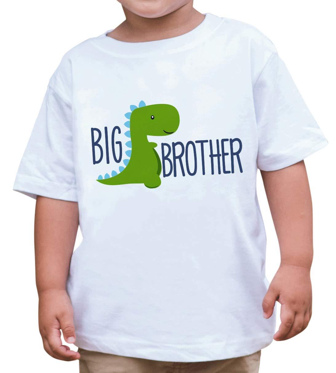 7 ate 9 Apparel Boy's Dinosaur Big Brother T-Shirt