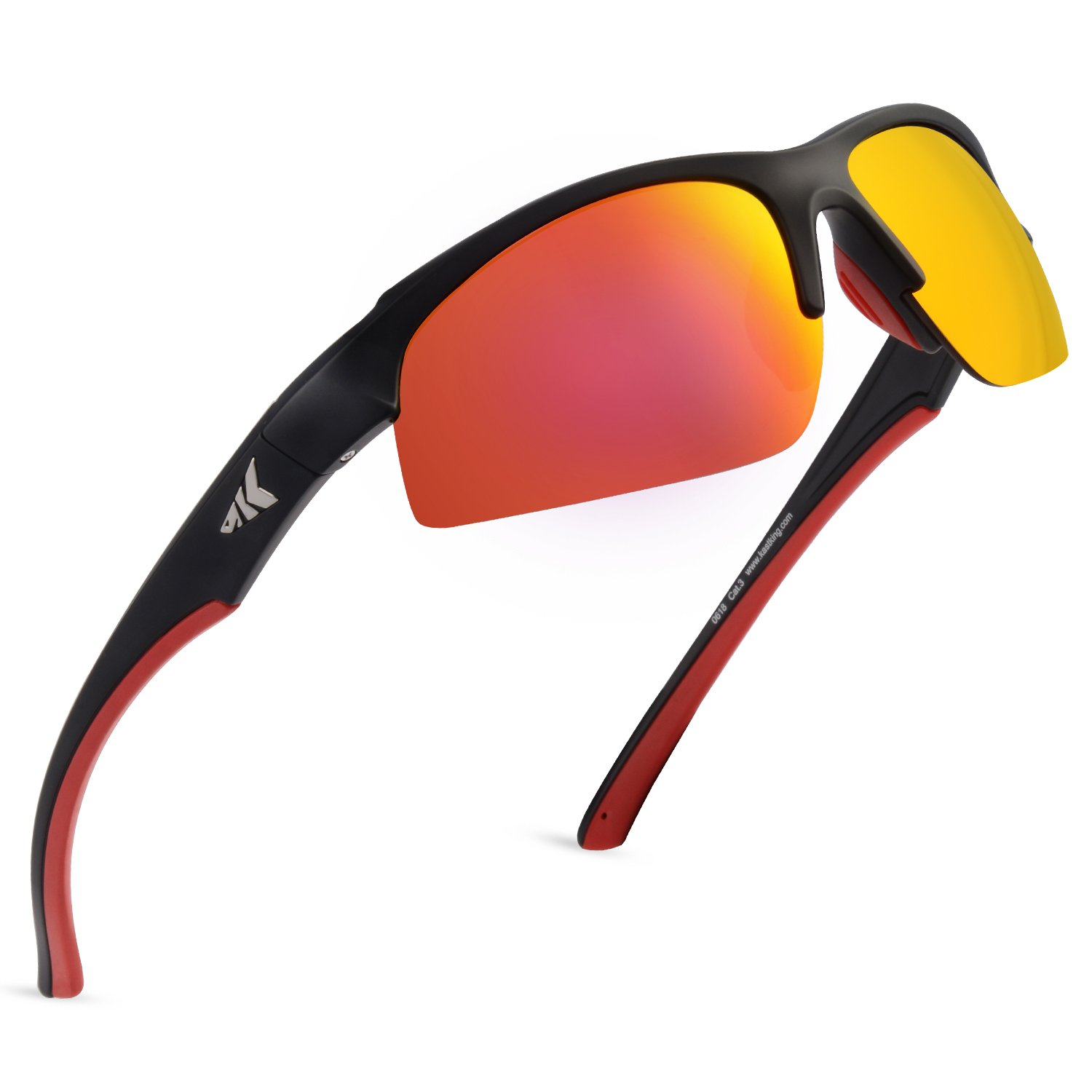 KastKing Cuivre Polarized Sport Sunglasses for Men and Women,Ideal for Driving Fishing Cycling and Running,UV Protection