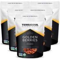 Terrasoul Superfoods Organic Golden Berries, 5 Pounds