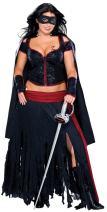 Secret Wishes Full Figure Lady Zorro Costume