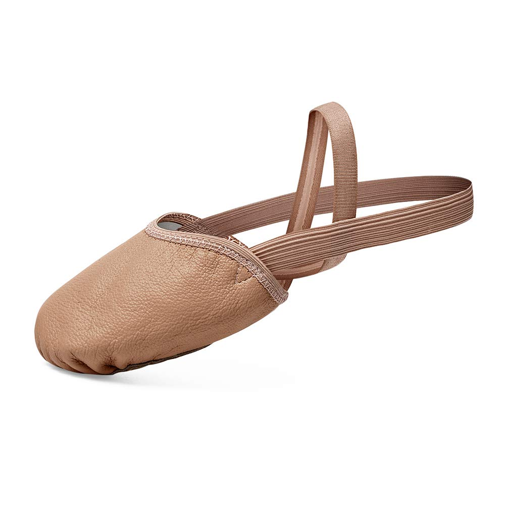 STELLE Leather Contemporary Pirouette Dance Half Sole Lyrical Turning Shoes for Ballet Jazz Girls/Women/Boy/Men/Adult
