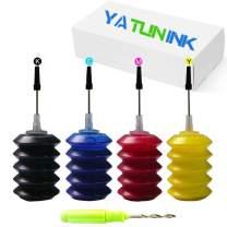 YATUNINK Premium Refill Ink Kit Replacement for HP 65xl Ink Cartridge for HP DeskJet 3755 DeskJet 2655 3752 3720 2622 2624 2652 3723 3730 3732 3755 3758 Envy 5055 Envy 5052 Envy 5058 Printer (4x30ML)
