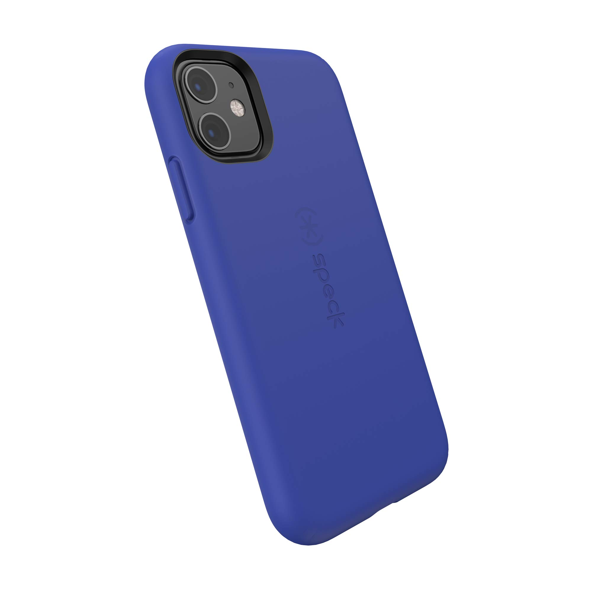Speck CandyShell Fit iPhone 11 Case, Blueberry Blue/Blueberry Blue
