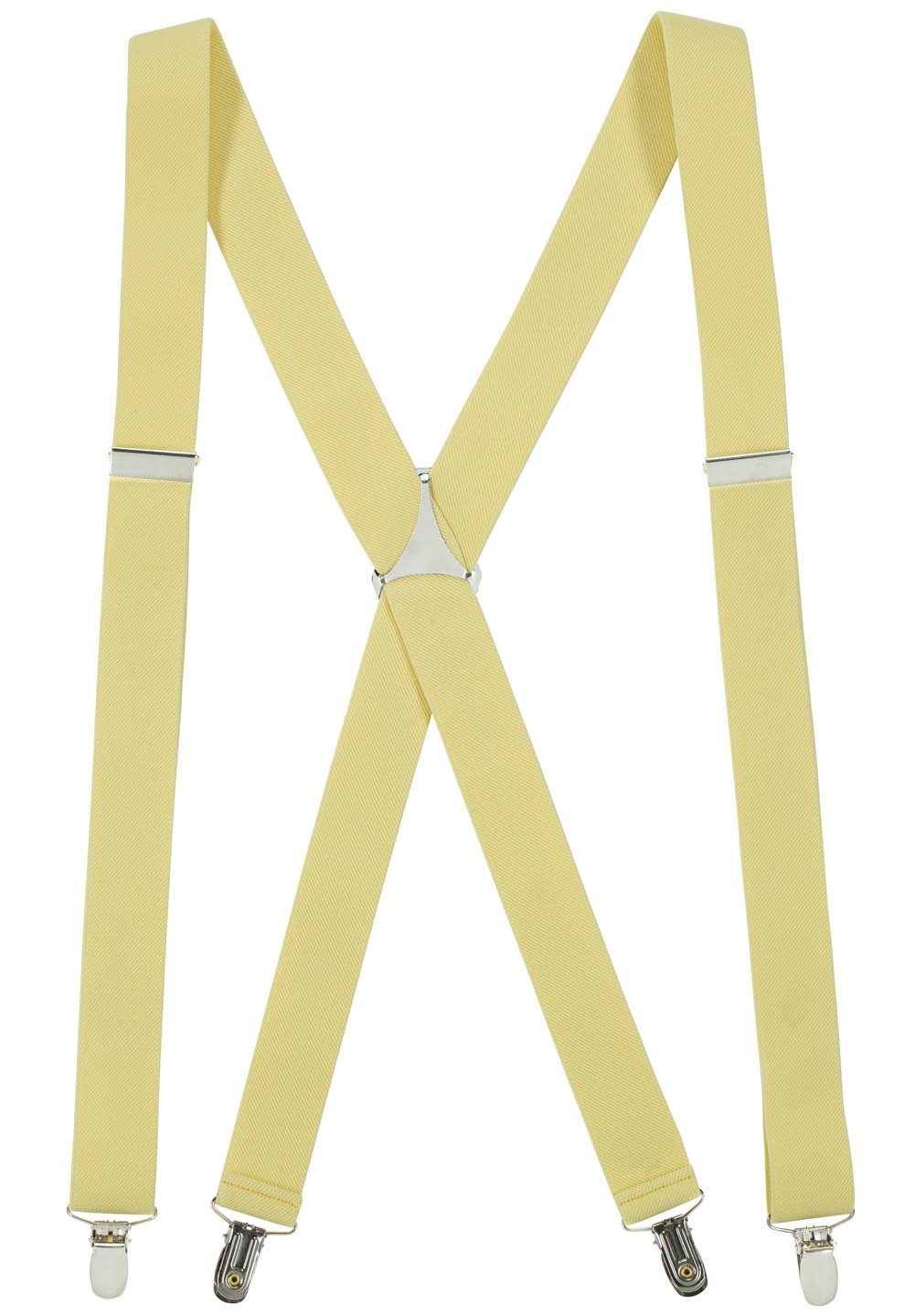 Hold'Em Suspender for Men X-Back Adjustable Straight Clip-on Tuxedo Suspenders Many Colors Available