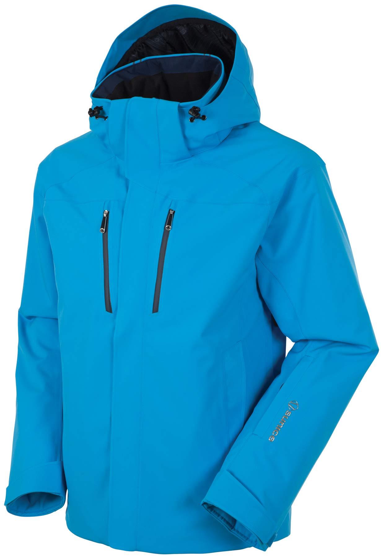 Sunice Vibe Men's Thermal Snow Jacket – Insulated Waterproof Winter Jacket