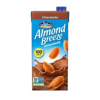 Almond Breeze Dairy Free Almondmilk, Chocolate, 32 FL OZ (Pack of 12)