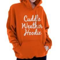 Cuddle Weather Snuggle Season Cute Holiday Hoodie