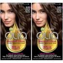 Garnier Olia Ammonia-Free Brilliant Color Oil-Rich Permanent Hair Color, 5.03 Medium Neutral Brown (Pack of 2) Brown Hair Dye