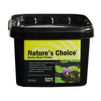 CrystalClear Nature's Choice Barley Straw Pellets - Natural Pond Treatment - 2 Pound Bucket Treats Up to 6,000 Gallons