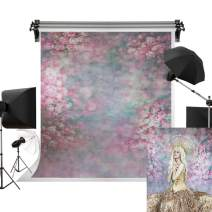 Kate 3x5ft/1m(W) x1.5m(H) Portrait Background Flower Wall Backdrop Photography Backdrops Spring Abstract Background Photography Studio Props