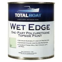 TotalBoat Wet Edge Topside Paint (Aqua Mist, Quart)